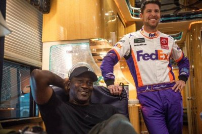 Michael Jordan, Denny Hamlin create NASCAR team with Bubba Wallace as driver
