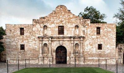 Texas allows alcohol at the Alamo
