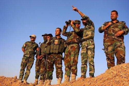 Turkish jets bomb U.S.-backed Kurdish fighters in Syria, Iraq