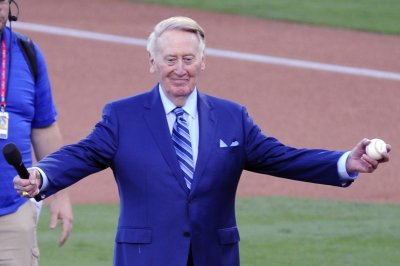 Hall of Fame broadcaster Vin Scully 'resting comfortably' after falling at home
