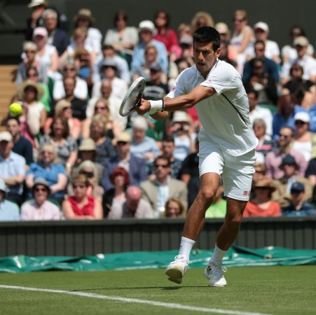 Djokovic through to Wimbledon second round
