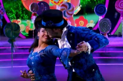 An emotional Val Chmerkovskiy on 'DWTS' partner Laurie Hernandez: 'I just don't want to blow it for her'