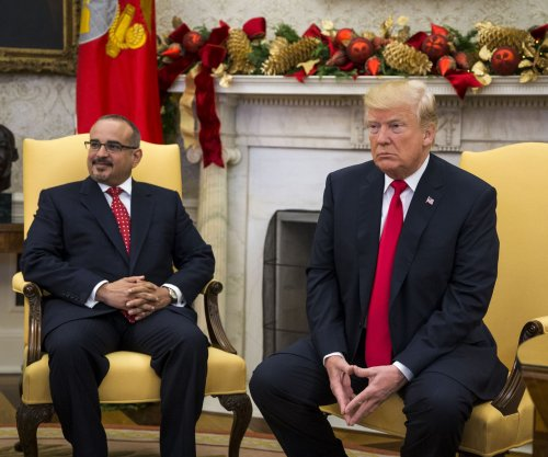 Trump and Bahrain crown prince tout relationship at White House meeting