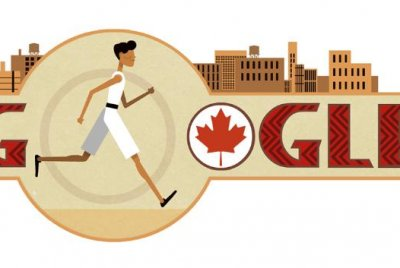 Google honors runner Tom Longboat with Doodle