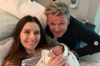 Gordon Ramsay introduces newborn son Oscar James