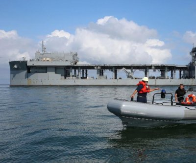 U.S. Navy ship completes three-day mine countermeasures test