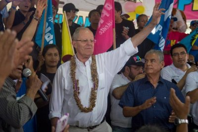 Peru election: Kuczynski has slight lead over Fujimori with 92 percent of votes counted