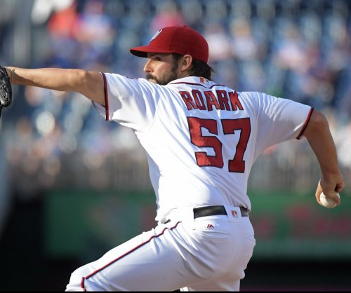 Tanner Roark wins No. 16; Washington Nationals edge Miami Marlins 2-1