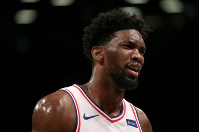 NBA Playoffs: Sixers' Joel Embiid goes windmill jam versus Raptors