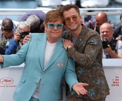 Taron Egerton says he is 'quite close' to Elton John, was given a drag name