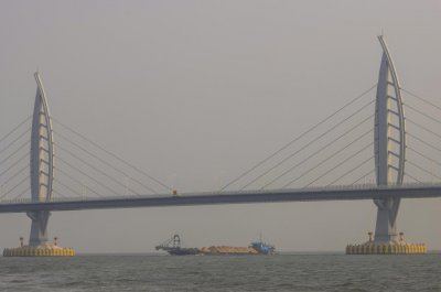 Chinese authorities say 'missing' Hong Kong man arrested at bridge