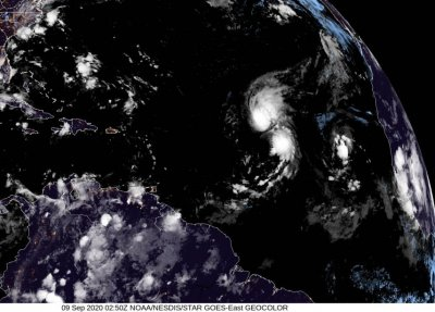 Rene downgraded to a tropical depression near Cabo Verde Islands thumbnail