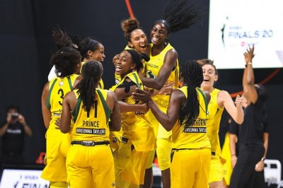 Seattle Storm sweep Las Vegas Aces for record-tying fourth WNBA title