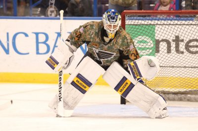 Blues battle past Sabres in shootout
