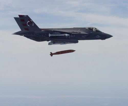 F-35 drops first Joint Standoff Weapon