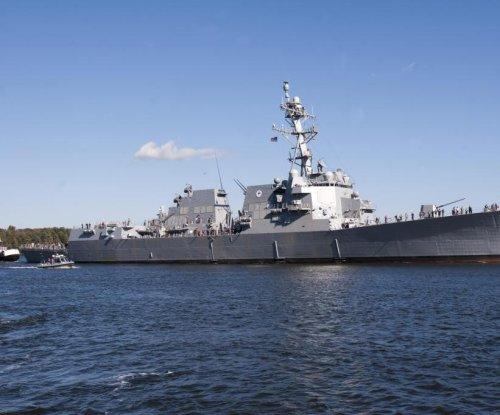 Future USS Rafael Peralta completes alpha trials