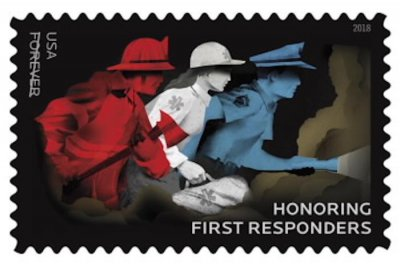 USPS, Oprah Winfrey honor wildfire first responders with stamp