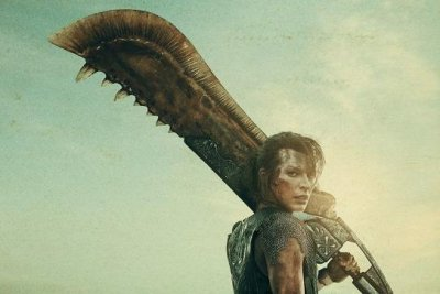 'Monster Hunter': Milla Jovovich wields a giant sword in new posters