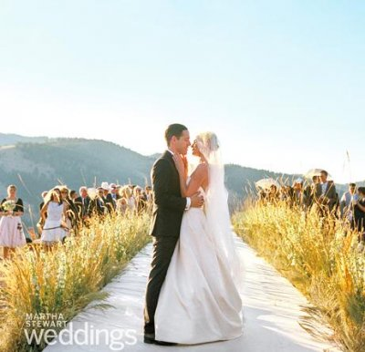Kate Bosworth and Michael Polish's wedding photos unveiled