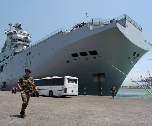 DCNS delivers first Mistral-class carrier to Egypt