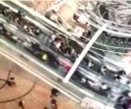 Two arrested after 18 hurt in escalator malfunction in Hong Kong