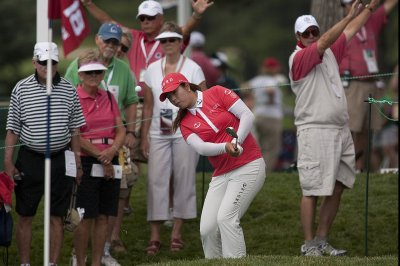 LPGA: Shanshan Feng holds second-round lead at Women's Open