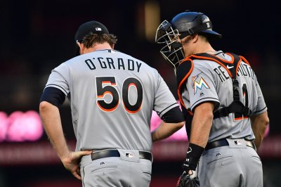 Catcher J.T. Realmuto requests trade from Miami Marlins after dismantling of team