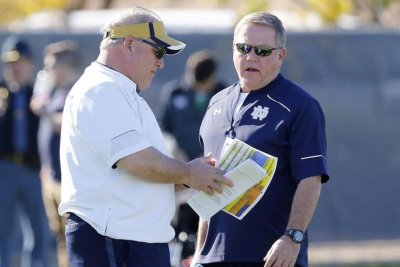 Notre Dame Fighting Irish name Jeff Quinn offensive line coach
