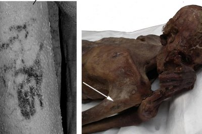 Scientists find world's oldest figural tattoos on Egyptian mummies