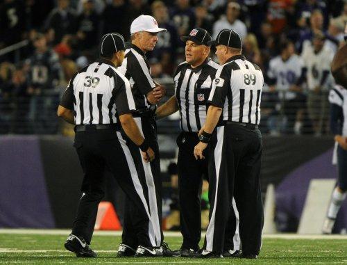 NFL referees back to work Thursday