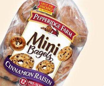 Pepperidge Farm recalls 46,000 packages of bagels