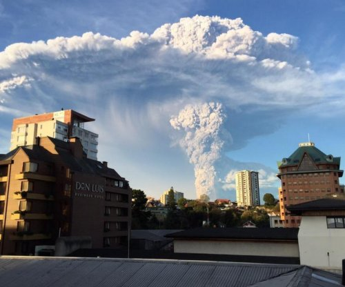 Chilean volcano Calbuco erupts twice in span of hours; hiker missing