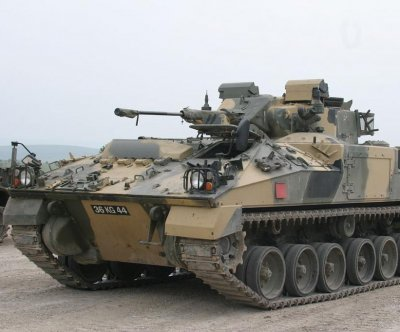 Compact cannon for British armored vehicles