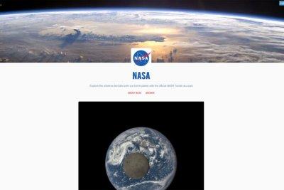 NASA joins Tumblr, starts multiple blogs