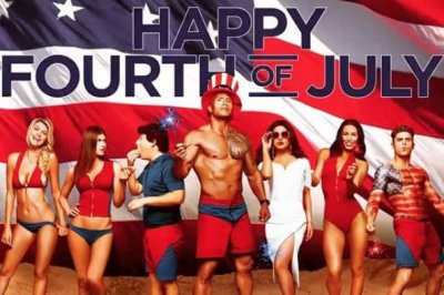 Dwayne Johnson shares muscular 'Baywatch' poster for July Fourth