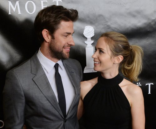 Emily Blunt, John Krasinski return to red carpet after daughter's birth