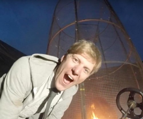 British inventor creates 'Fire tornado firework launcher'
