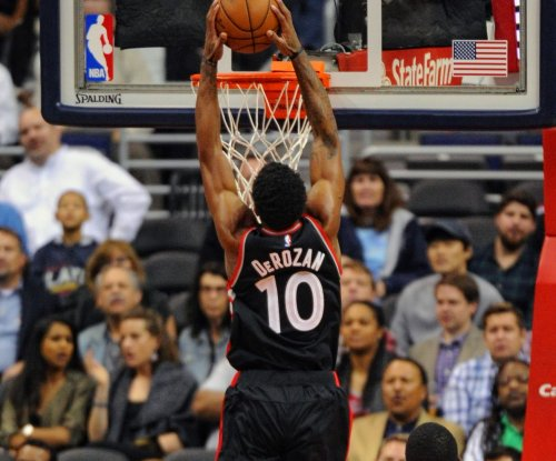 DeMar DeRozan leads Toronto Raptors over Portland Trail Blazers