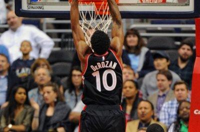 DeMar DeRozan leads Toronto Raptors over Portland Trail Blazers