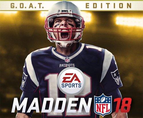 Tom Brady named 'Madden NFL 18' cover athlete