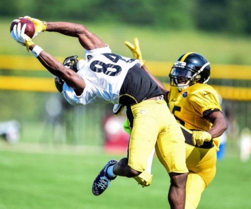 Pittsburgh Steelers camp: Antonio Brown, Artie Burns put on a show