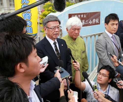 Okinawa governor says U.S. military 'crazy, 'out of control'