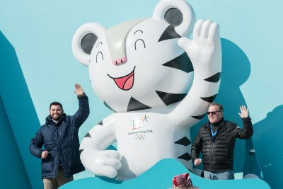 Olympic mascots white tiger, bear inspired by Korean origin story