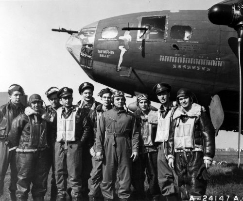 On This Day: Memphis Belle completes 25th flight