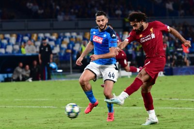 Champions League soccer: Napoli knocks off Liverpool