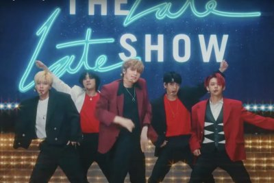 TXT performs 'Magic' on 'The Late Late Show'