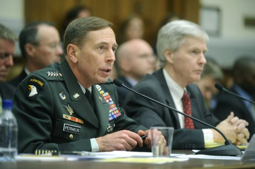 Petraeus: 'Remote' chance of second surge
