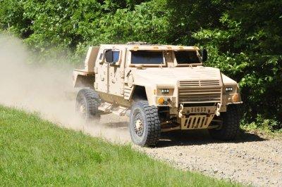 Lockheed's JLTV offering surpasses 100k miles in testing
