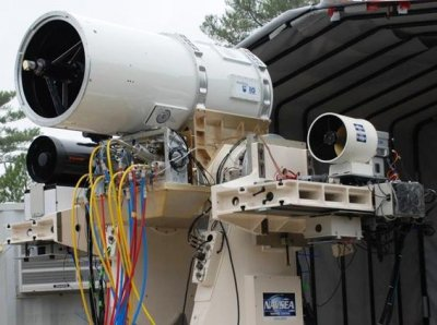 Raytheon announces military contract for vehicle-carried laser weapon