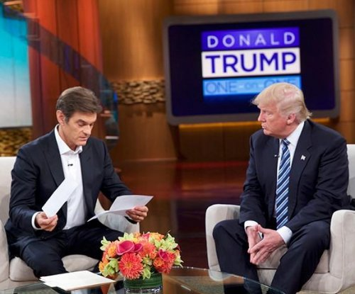 Donald Trump provides summary of physical to Dr. Oz during show taping